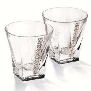 Chinelli Набор из 2 бокалов для виски 3053200/g