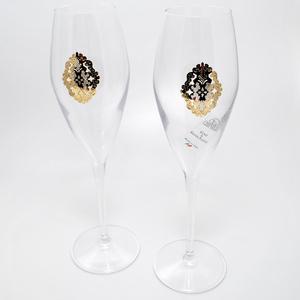 """Chinelli Набор из 2-ух фужеров для шампанского """"Arabesque"""" 6218100"""