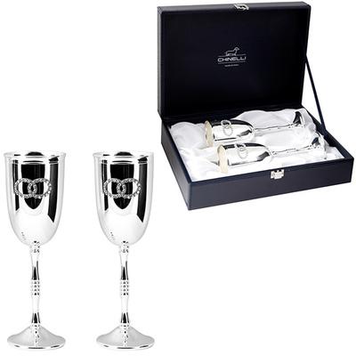 Chinelli Набор для шампанского из 2-ух фужеров 2978
