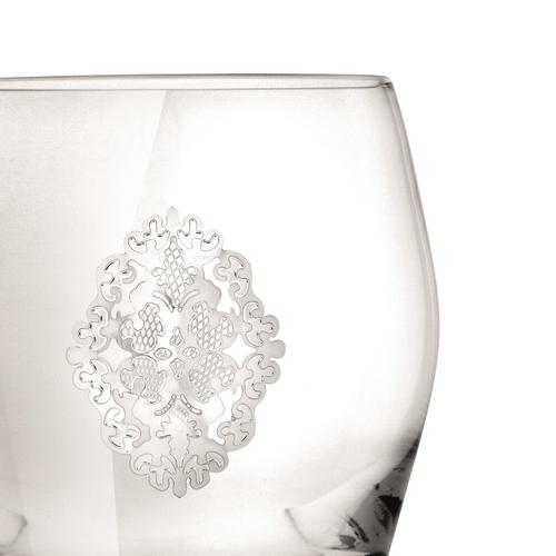 """Chinelli Набор из 2-ух фужеров для шампанского """"Arabesque"""" 2218100"""